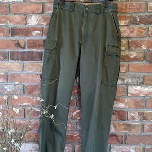 5.11 Tactical Series Green Cargo Utility Pants